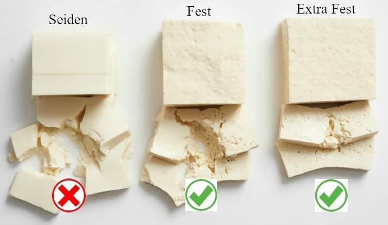 Tofu Arten