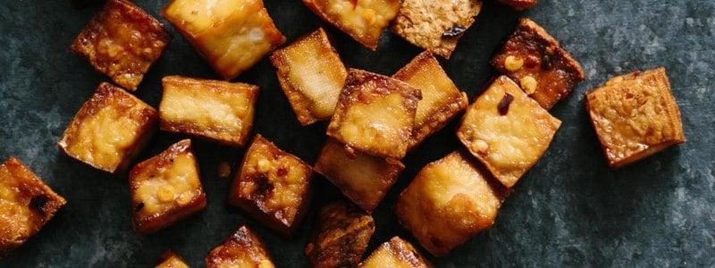 gebackener tofu