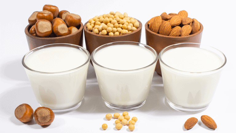 Nährstoffe vegane Milch
