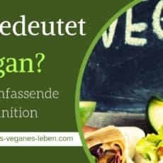 Was bedeutet Vegan