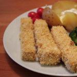 vegane tofu fischstäbchen