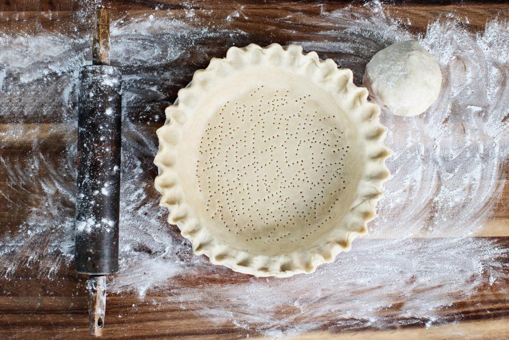 Vegane Kokosöl Kuchen Kruste