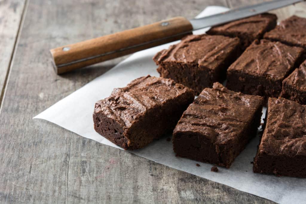 vegane Brownies selber machen