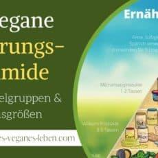 Vegane Ernährungspyramide – Lebensmittelgruppen & Portionsgrößen