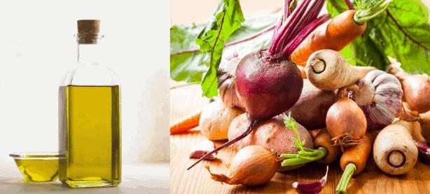 Welche Zutaten werden für die Gemüsesuppe benötigt?