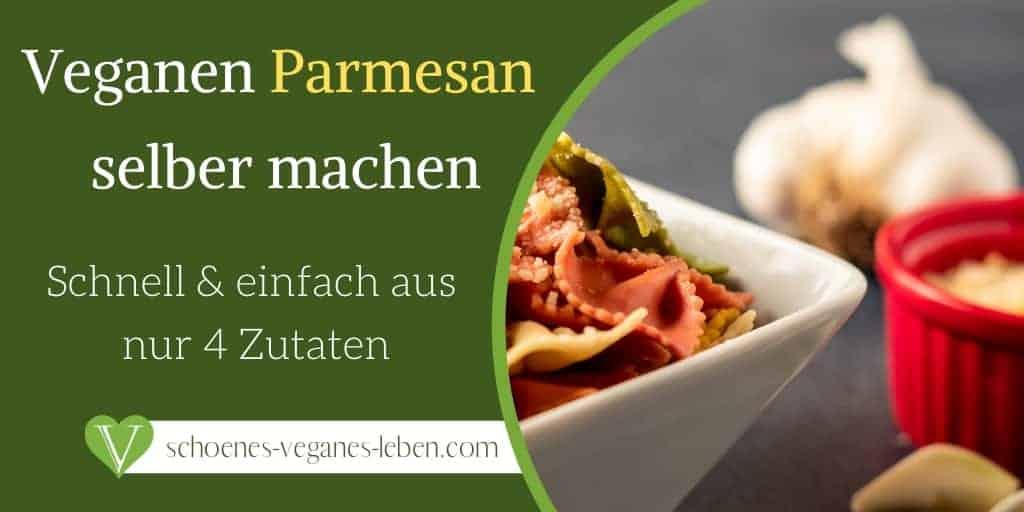 Veganen Parmesan Käse Ersatz selber machen – Schnell & einfach aus nur 4 Zutaten