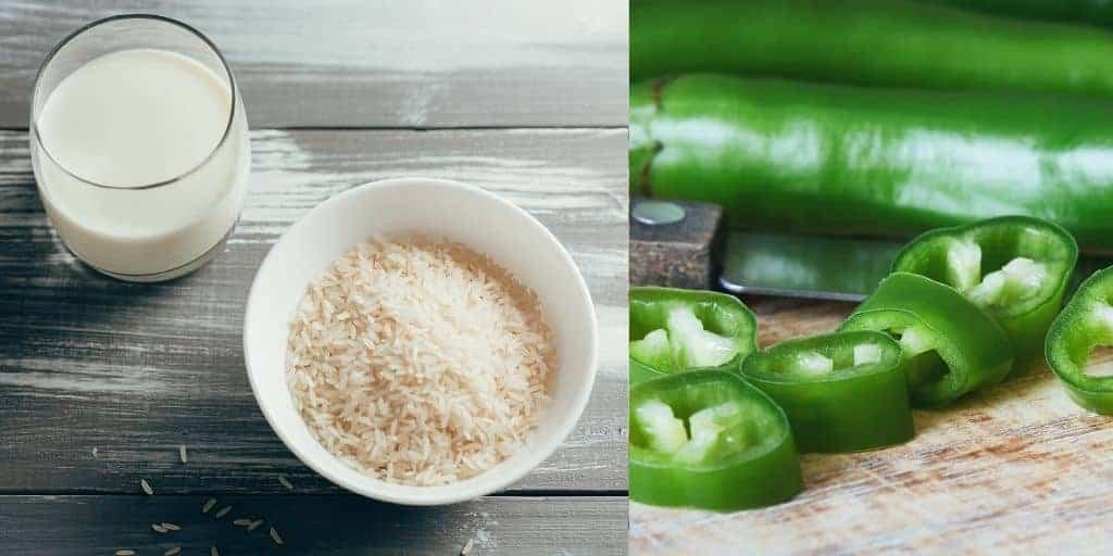 veganen quark hergestellt mit chilis