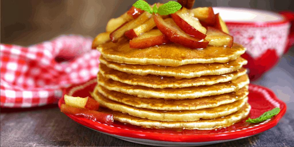 Tipps für die besten veganen Apfelmus-Pfannkuchen